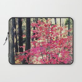Red in the forest Laptop Sleeve