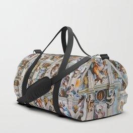 Sistine Chapel Ceiling Michelangelo Duffle Bag
