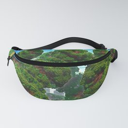 Bacterium Hedgerow Fanny Pack