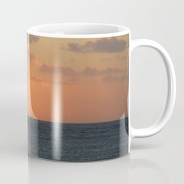Sunset at Great Barrier Reef Coffee Mug