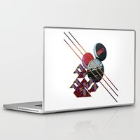 2001 Laptop & iPad Skins featuring 2001 a space odyssey by lina