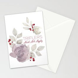 MFM: Triflers Need Not Apply Stationery Cards