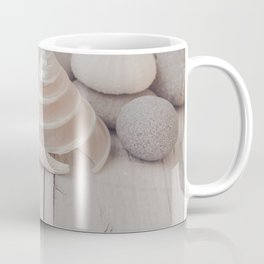 Beach Still Life With Shells And Starfish Coffee Mug
