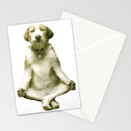 Yoga Dog Stationery Cards
