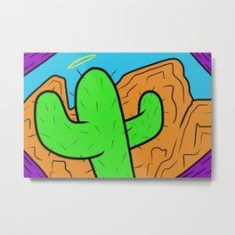 Holy Cacti Metal Print