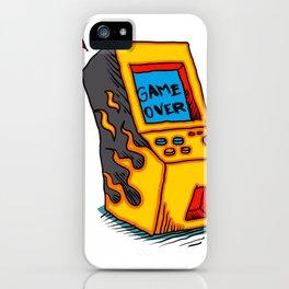 Vintage Arcade game Machine iPhone Case