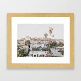 Hollywood California Framed Art Print