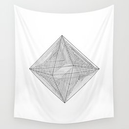 DMT OCTAHEDRON Wall Tapestry