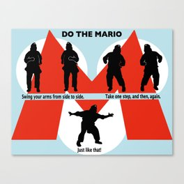 Do the Mario Canvas Print