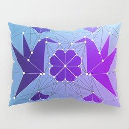 Origami Hummingbirds Pillow Sham