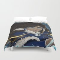 avatar Duvet Covers featuring Avatar State by Nikki Abrego