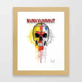 To The Core Collection: Nunavut Framed Art Print