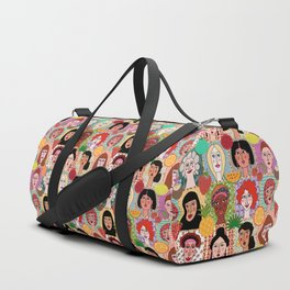the colors of women Duffle Bag
