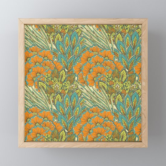 Floral Tropical pattern by all4you