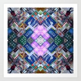 Hong Kong Kaleidoscope 03 Art Print