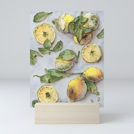 Rotting Lemons Mini Art Print