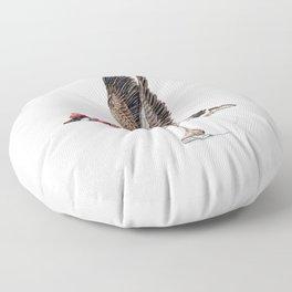 Canada Goose Figure Skating Floor Pillow
