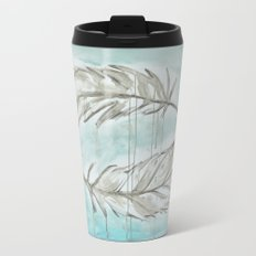 Feathers and memories Travel Mug