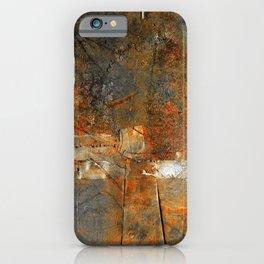 Rust Texture 72 iPhone Case