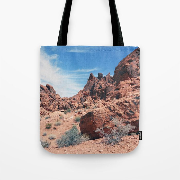 Valley of Fire Tote Bag
