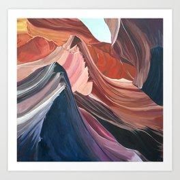 Acrylic on Canvas ANTELOPE CANYON