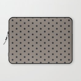 Superstars Black on WarmGray Small Laptop Sleeve