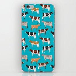 Dairy Breeds // Cerulean iPhone Skin