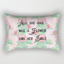 Surfer girl quotes Rectangular Pillow