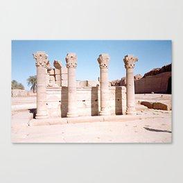 Temple of Dendera, no. 3 Canvas Print