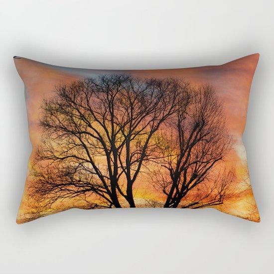 TRACERY Rectangular Pillow