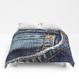 Texture #17 Jeans Comforters