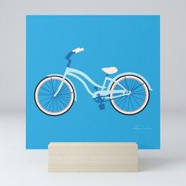 Cruiser Bike: Blue Sky Mini Art Print