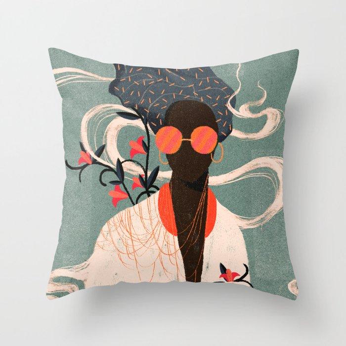 Kalemba I Throw Pillow