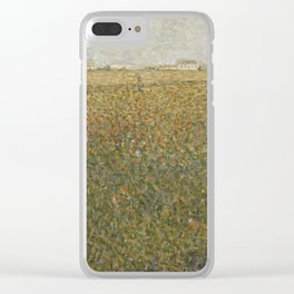 Georges Seurat - La Lucerne Clear iPhone Case