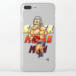 Super Punch-Out's Super Macho Man! Clear iPhone Case