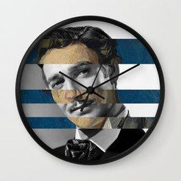 Picasso's Portrait of Renart & Clark Gable Wall Clock