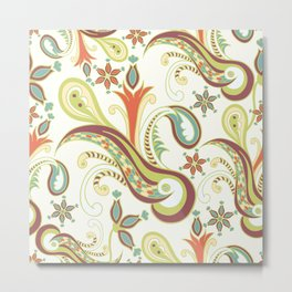 Paisly ornament Metal Print