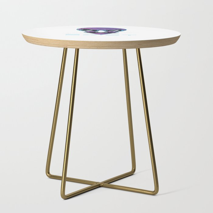 Funny Aliens Exist graphic - Space And Alien Lover Side Table