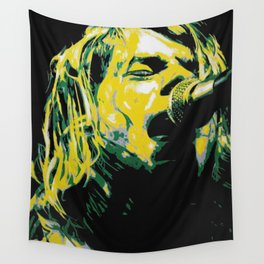 COBAIN UNPLUGGED Wall Tapestry