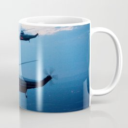 Support Helicopters Fly at Dusk Coffee Mug