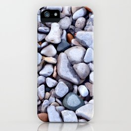 Lake Beach Pebbles iPhone Case