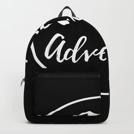 Adventure Mountains Wanderlust Gifts Backpack