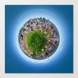 Planète MTL Canvas Print