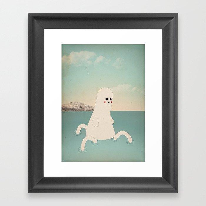 s - k a p p a Framed Art Print