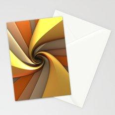 Tri-Gold Spiral Stationery Cards