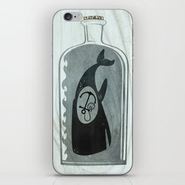 Whale in a Bottle | Anchor iPhone Skin