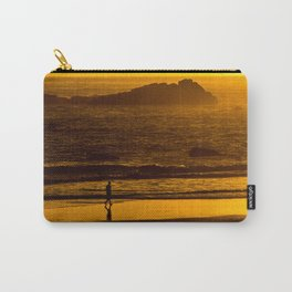 Strolling Harris Beach At Sunset - Oregon Carry-All Pouch
