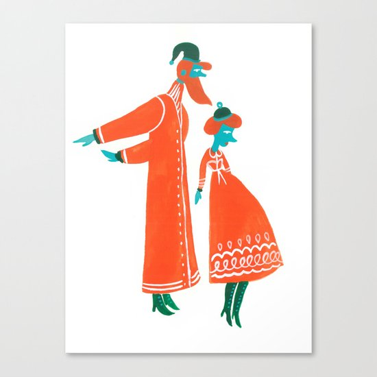 The Kringles Canvas Print