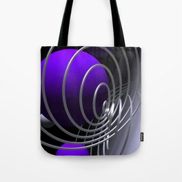 go violet -07- Tote Bag