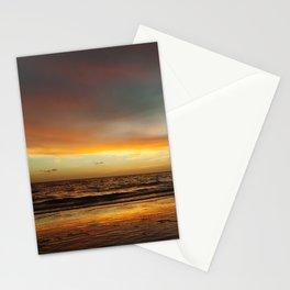 Florida Beach Sunset Stationery Cards